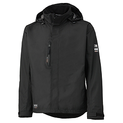 HH HAAG Jacket, BLACK (100 % Polyester, 145 g/m²)