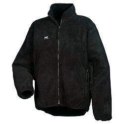 HH RED LAKE Zip-in Fleecejacke, BLACK (100% Polyester, 320 g/m²)